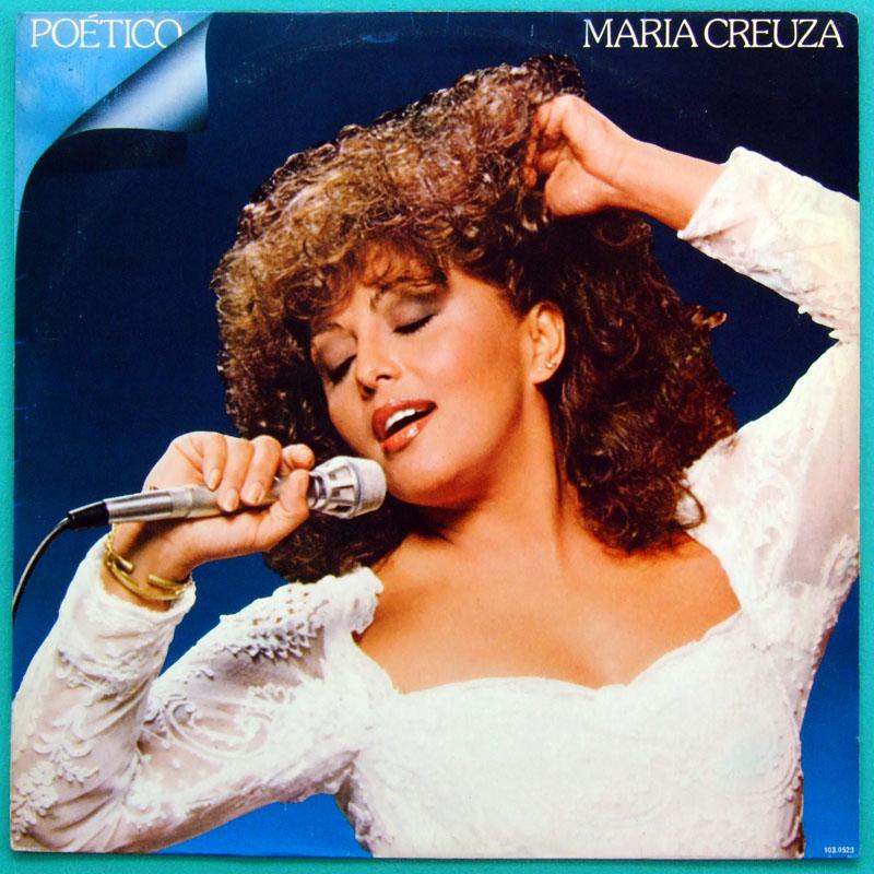 LP MARIA CREUZA POETICO 1982 SAMBA CHORO BOSSA FOLK BRAZIL