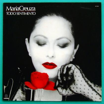 LP MARIA CREUZA TODO SENTIMENTO 1991 SAMBA BOSSA FOLK BRAZIL