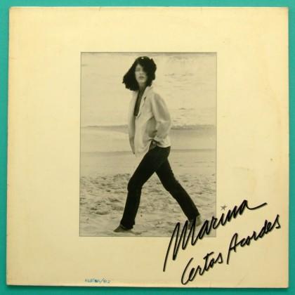 LP MARINA CERTOS ACORDES 1982 ROCK POP FOLK BOSSA BRAZIL