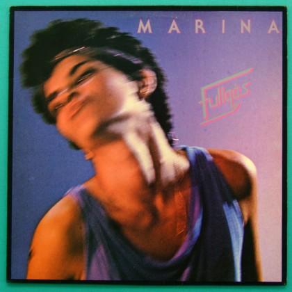 LP MARINA FULLGAS 1984 ROCK POP FOLK BOSSA NOVA BRAZIL