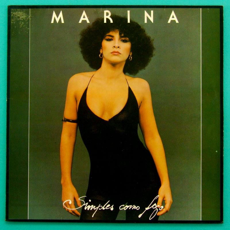 LP MARINA SIMPLES COMO FOGO 1979 ROCK POP FOLK BOSSA BRAZIL