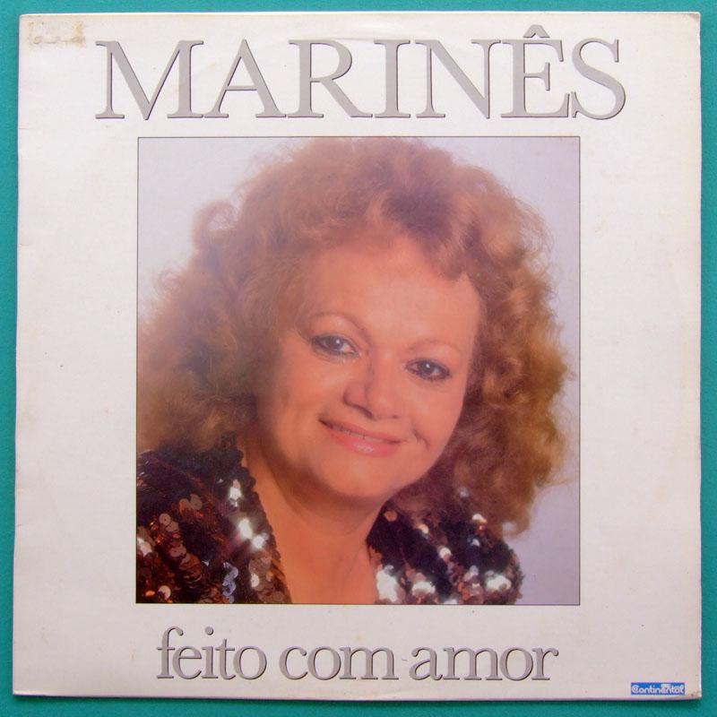 LP MARINES FEITO COM AMOR 1989 FOLK REGIONAL BAIAO BRAZIL