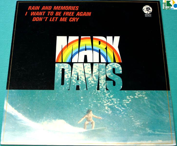 LP MARK DAVIS FABIO JUNIOR JR 1975 FOLK BEAT POP PSYCH NEAR MINT BRAZIL