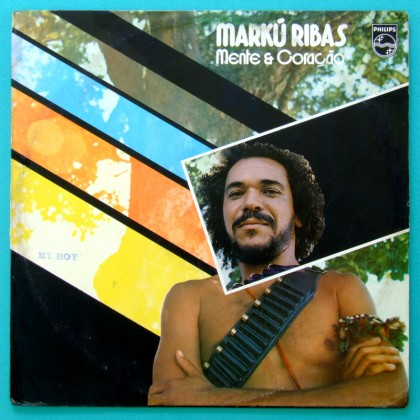 LP MARKU RIBAS MENTE & CORACAO 1980 SOUL REGIONAL BRAZIL