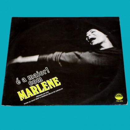 LP MARLENE E A MAIOR! 1970 LIVE - ARTHUR VEROCAI FOLK SAMBA JAZZ BOSSA  BRAZIL