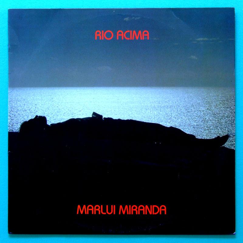 LP MARLUI MIRANDA RIO ACIMA 1986 INDIAN FOLK JAZZY BRAZIL