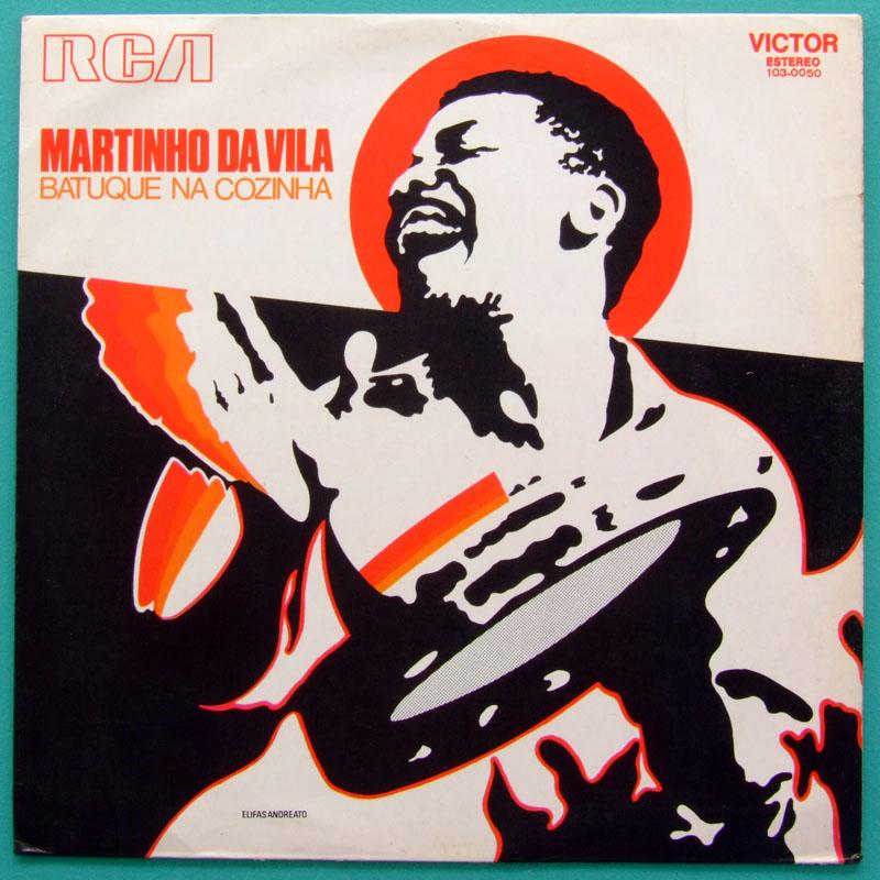 LP MARTINHO DA VILA BATUQUE NA COZINHA 1972 SAMBA AFRO RITUALS BRAZIL