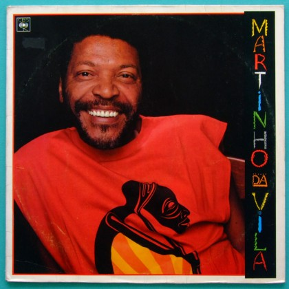 LP MARTINHO DA VILA FESTA DA RACA 1988 SAMBA BRAZIL