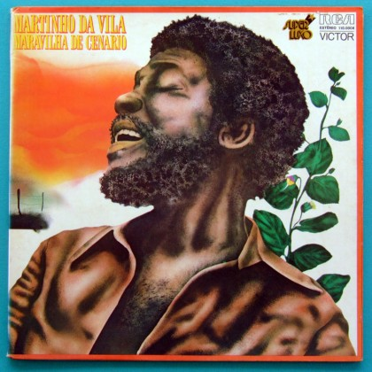 LP MARTINHO DA VILA MARAVILHA DE CENARIO 1975 SAMBA AFRO RITUALS BRAZIL