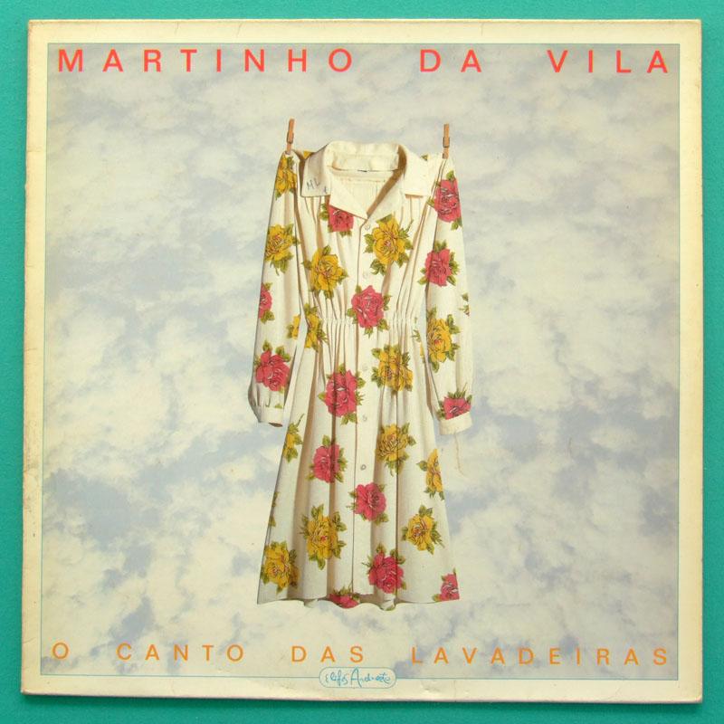 LP MARTINHO DA VILA CANTO DAS LAVADEIRAS - SAMBA BRAZIL
