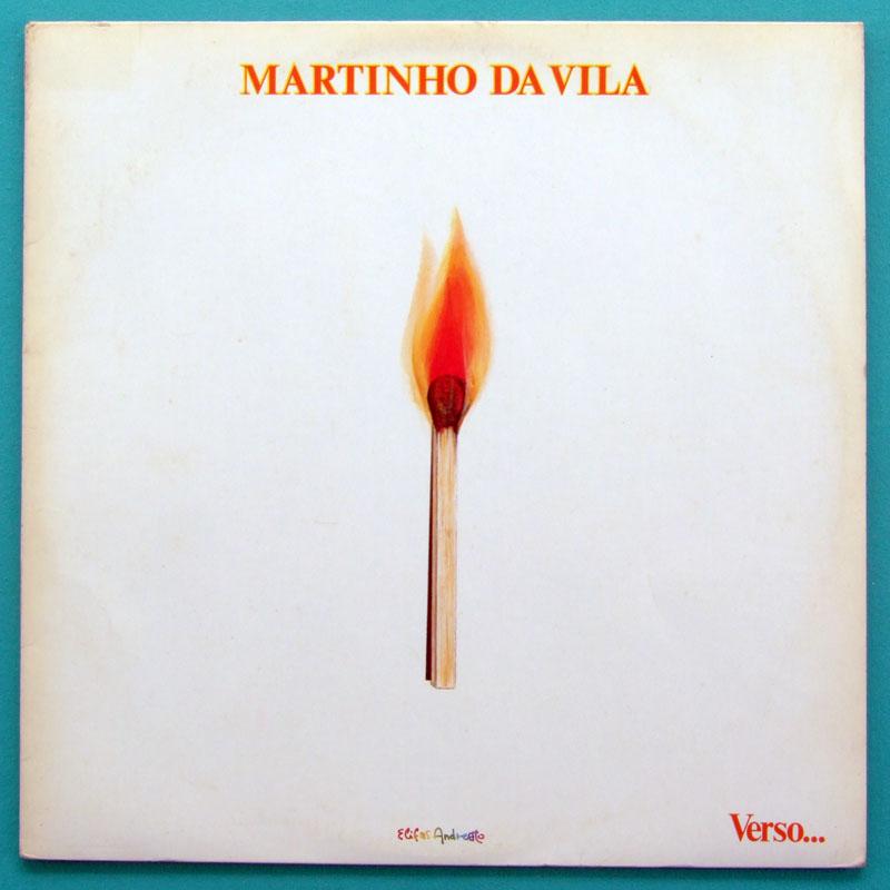 LP MARTINHO DA VILA VERSO SAMBA RITUAL AFRO 1974 BRAZIL