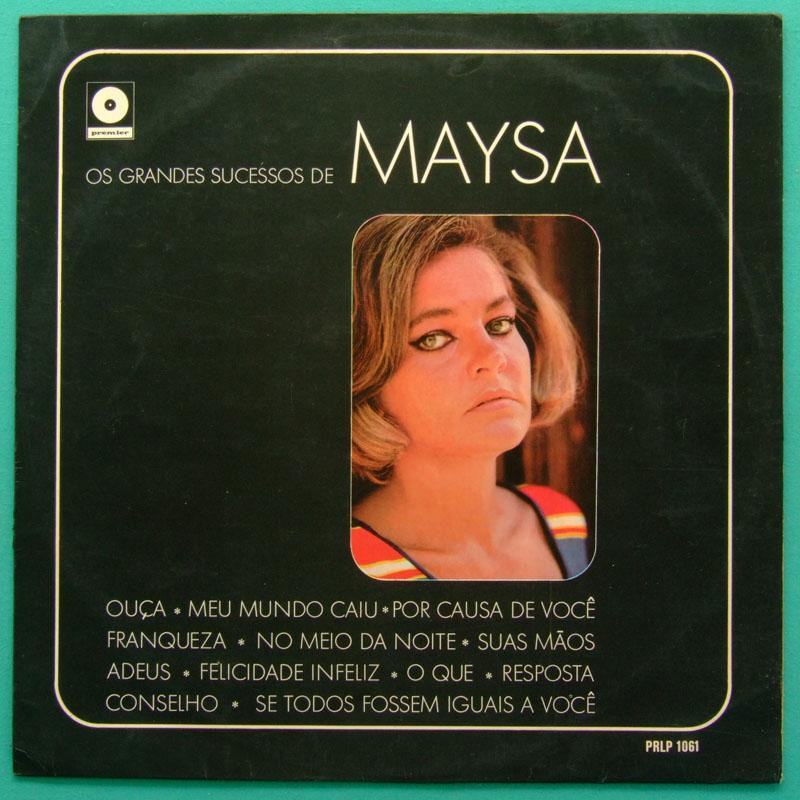 LP MAYSA OS GRANDES SUCESSOS DE SAMBA BOSSA JAZZ BRAZIL
