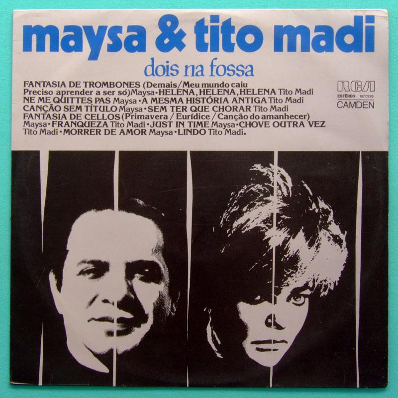 LP MAYSA TITO MADI DOIS NA FOSSA 1975 SAMBA BOSSA BRAZIL