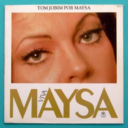 LP MAYSA VIVA TOM JOBIM POR 1992 SAMBA BOSSA NOVA JAZZ BRAZIL