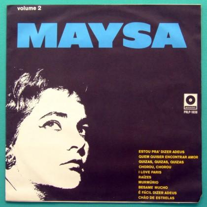 LP MAYSA VOLUME DOIS 1968 SAMBA BOSSA NOVA JAZZ BRAZIL