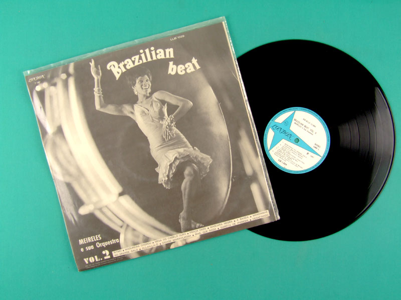 LP MEIRELES E SUA ORQUESTRA VOL 2 BRAZILIAN BEAT BRAZIL