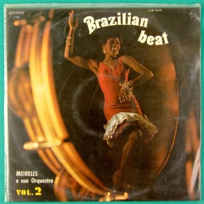 LP MEIRELES E SUA ORQUESTRA VOL 2 BRAZILIAN BEAT BRAZIL