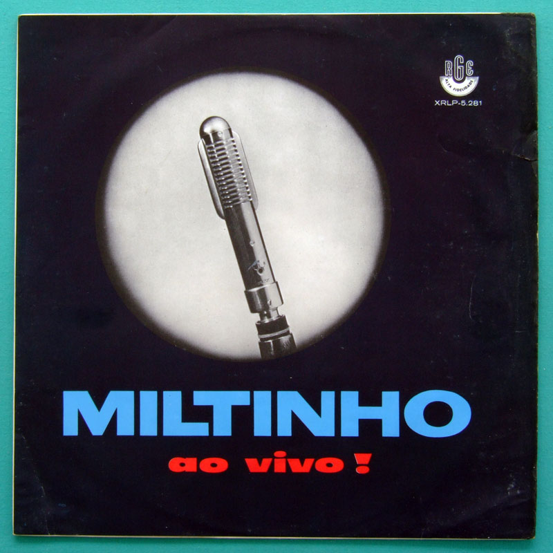 LP MILTINHO AO VIVO - CHORO SAMBA BOSSA FOLK MPB BRAZIL