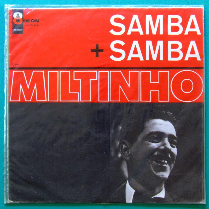 LP MILTINHO SAMBA + SAMBA 1966 - BOSSA NOVA FOLK BRAZIL