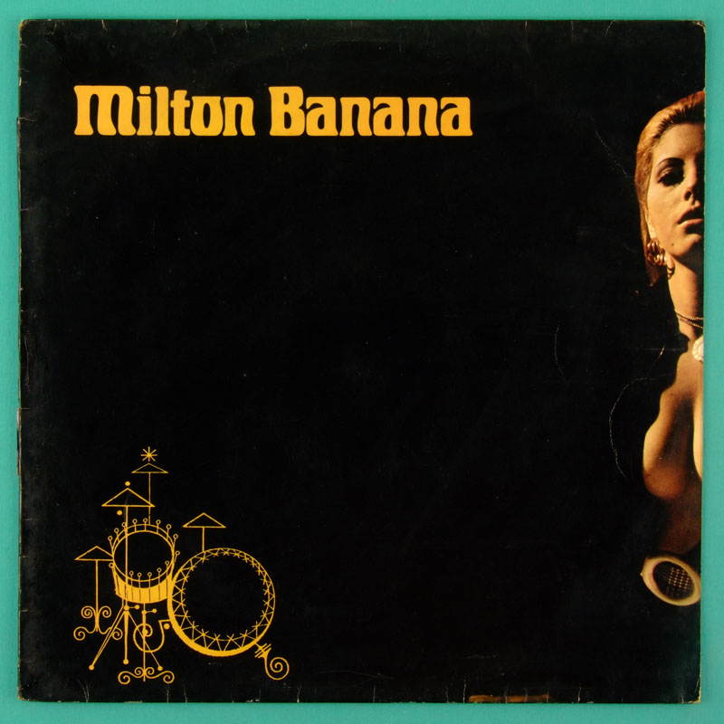 LP MILTON BANANA 1975 SAMBA BOSSA NOVA FOLK GROOVE BRAZIL