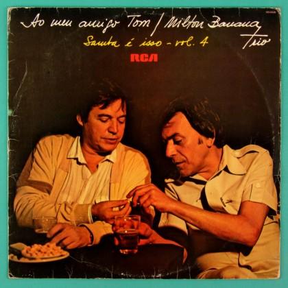 LP MILTON BANANA TRIO SAMBA E ISSO VOL 4 GROOVE  BRAZIL