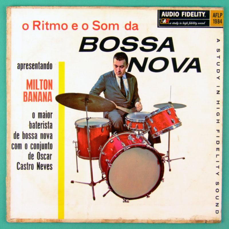 LP MILTON BANANA O RITMO E O SOM DA BOSSA NOVA 1963 BRAZIL