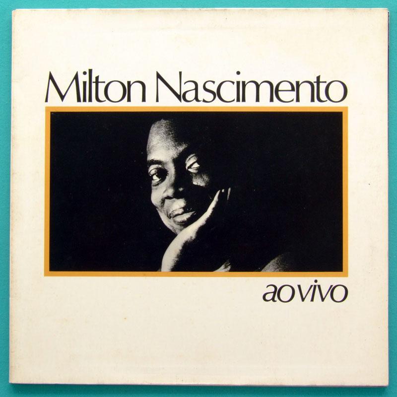 LP MILTON NASCIMENTO AO VIVO 1983 MINAS JAZZ FOLK BRAZIL