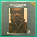 LP MILTON NASCIMENTO COURAGE DEODATO JAZZ FOLK BRAZIL