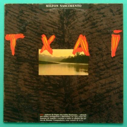 LP MILTON NASCIMENTO TXAI 1990 REGIONAL INDIAN MINAS JAZZ FOLK BRAZIL