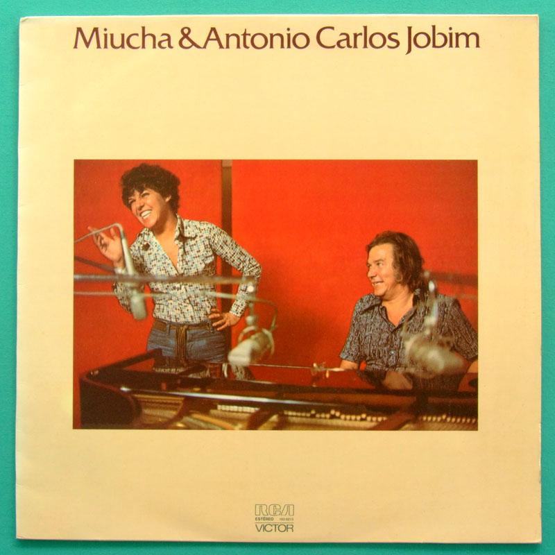 LP MIUCHA ANTONIO CARLOS JOBIM TOM BOSSA SAMBA JAZZ BRAZIL