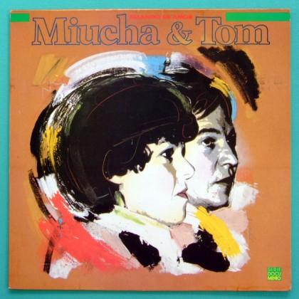 LP MIUCHA TOM JOBIM FALANDO DE AMOR CHICO BUARQUE JOAO GILBERTO BEBEL BOSSA SAMBA BRAZIL