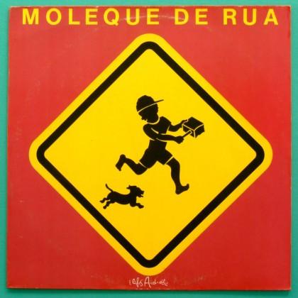 LP MOLEQUE DE RUA 1992 SAMBA GROOVE FUNK SOUL FOLK BRAZIL