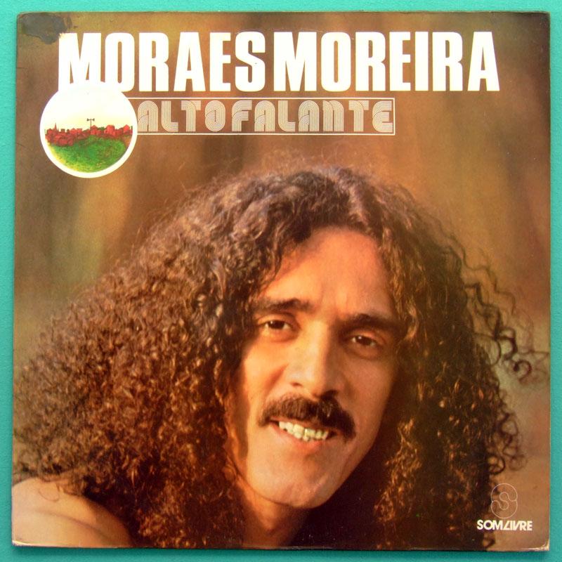 LP MORAES MOREIRA ALTO FALANTE 1988 PSYCH BOSSA NOVA FREVO SAMBA BRAZIL
