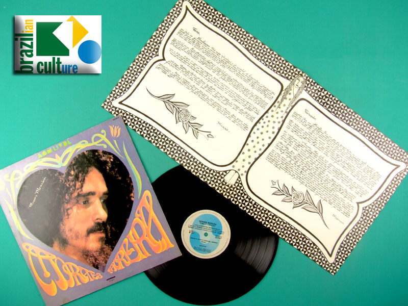 LP MORAES MOREIRA CARA E CORACAO 1977 2ND PSYCH BOSSA BRAZIL