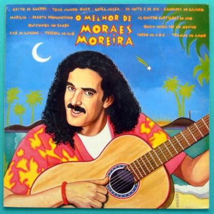 LP MORAES MOREIRA O MELHOR DE MORAES MOREIRA 1990 PSYCH BOSSA BRAZIL