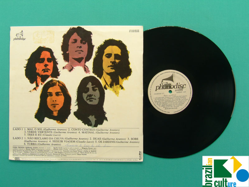 LP MOTO PERPETUO GUILHERME ARANTES 1974 / 1989 PSYCH PROG BRAZIL