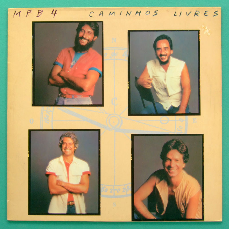 LP MPB-4 MPB4 CAMINHOS LIVRES 1983 SAMBA BOSSA NOVA FOLK BRAZIL