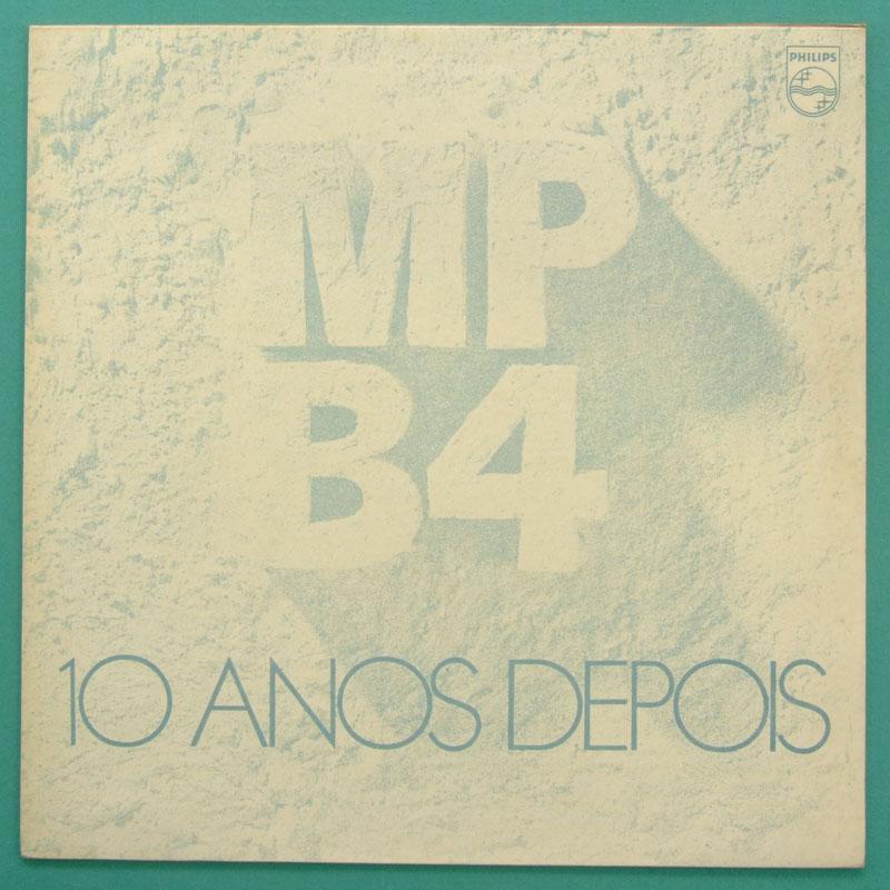 LP MPB-4 MPB4 10 ANOS DEPOIS 1975 SAMBA BOSSA NOVA FOLK BRAZIL