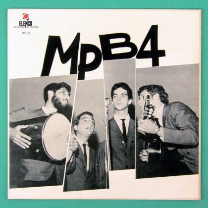 LP MPB-4 MPB4 1967 ELENCO SAMBA CHORO BOSSA NOVA VOCAL FOLK  BRAZIL