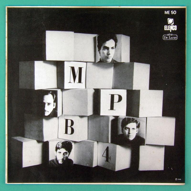 LP MPB-4 MPB4 1968 ELENCO SAMBA CHORO BOSSA NOVA VOCAL FOLK  BRAZIL