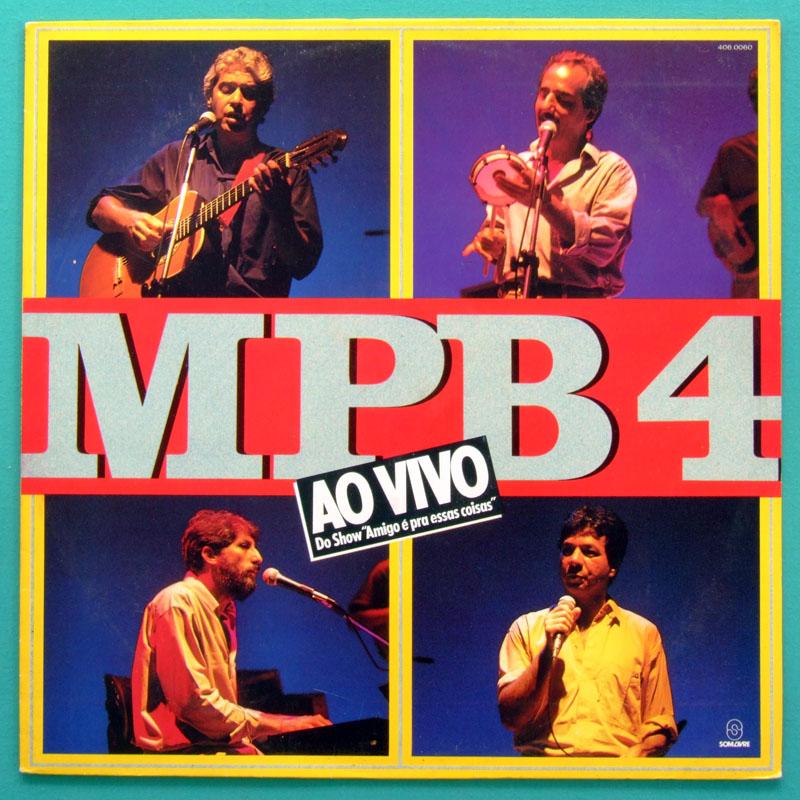 LP MPB-4 MPB4 AO VIVO 1985 VOCAL SAMBA BOSSA NOVA FOLK BRAZIL