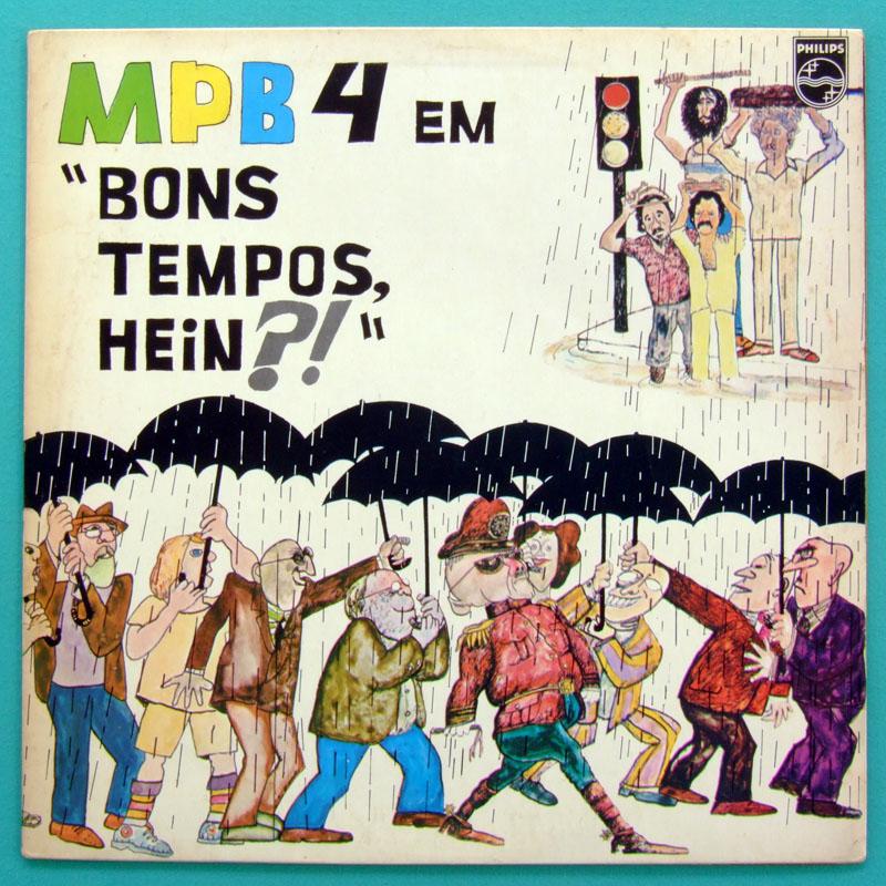 LP MPB-4 MPB4 BONS TEMPOS HEIM?! 1985 BOSSA NOVA FOLK BRAZIL