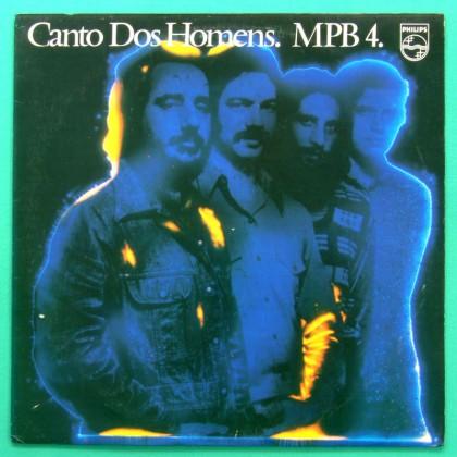 LP MPB-4 MPB4 CANTO DOS HOMENS 1985 BOSSA NOVA FOLK BRAZIL