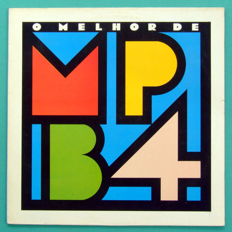 LP MPB-4 MPB4 O MELHOR DE 1989 SAMBA BOSSA NOVA FOLK  BRAZIL