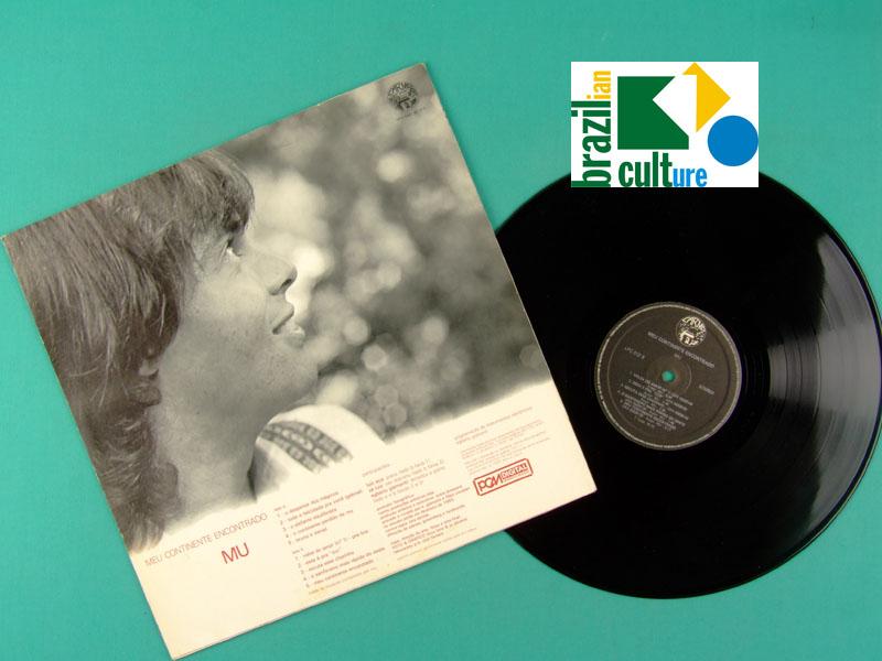 LP MU MEU CONTINENTE ENCONTRADO 1980 EGBERTO GISMONTI A COR DO SOM INDIE BRAZIL