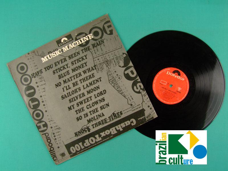 LP MUSIC MACHINE 1971 TONY OSANAH CASH BOX GROOVE ROCK FOLK BRAZIL