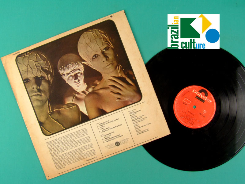 LP MUTANTES *1969* MONO ORIGINAL DUPRAT PSYCH POKORA TROPICALIA ROCK FOLK BRAZIL