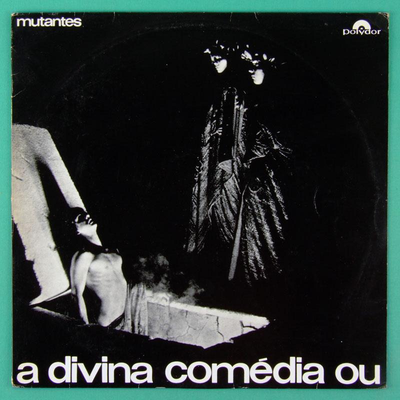 LP MUTANTES A DIVINA COMEDIA MINT- POKORA FOLK PSYCH ROCK PROG TROPICALIA BRAZIL