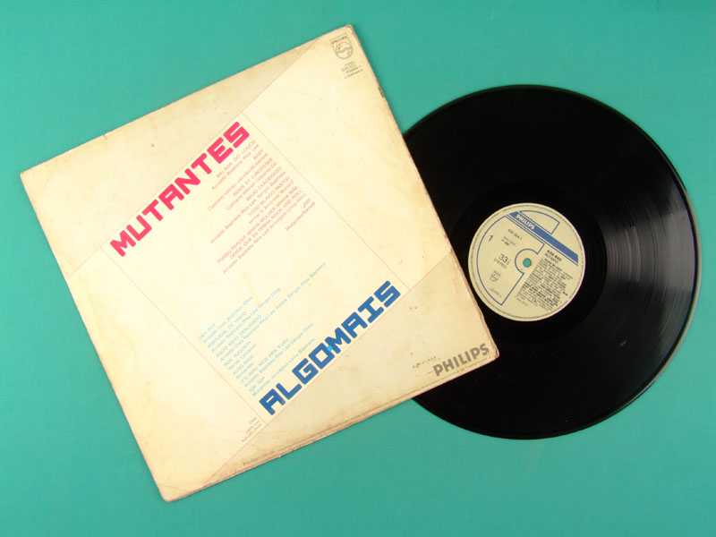 LP MUTANTES ALGO MAIS 1986 FOLK ROCK EXP PSYCH PROG BRAZIL