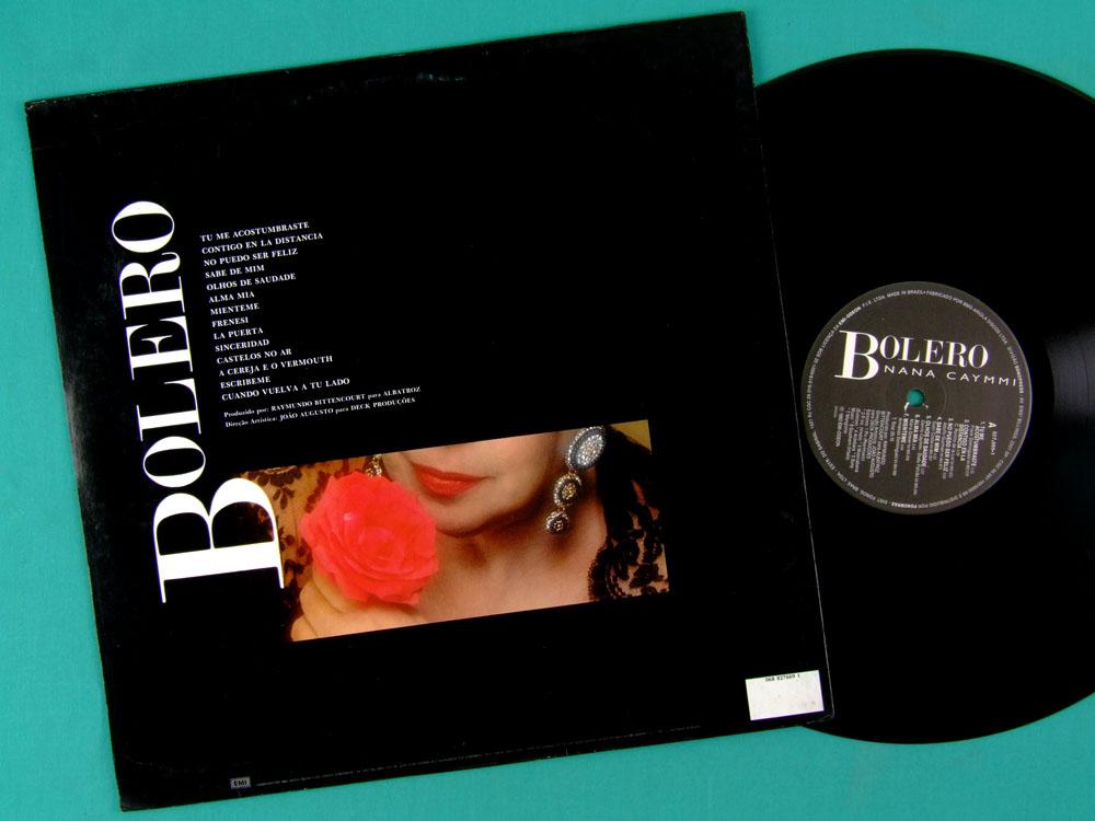 LP NANA CAYMMI BOLERO 1993 SAMBA MELLOW JAZZ BOSSA BRAZIL